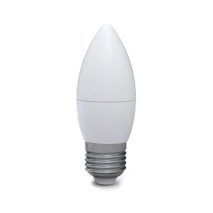 5W E27 Candle LED - 35W Replacement - 380lm - 2700K - Dimmable