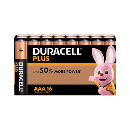 Duracell Plus Power AAA Batteries - 16 Pack