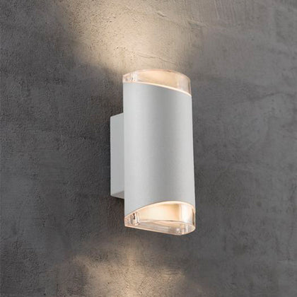 Nordlux Arn Outdoor 2-Light Wall Light Fixture - White