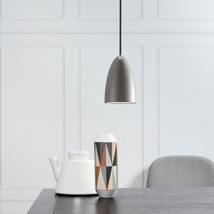 DFTP Nexus10 Pendant Light Fixture - Brushed Steel