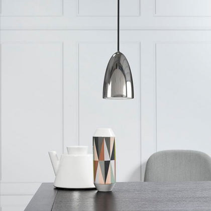DFTP Nexus10 Pendant Light Fixture - Chrome