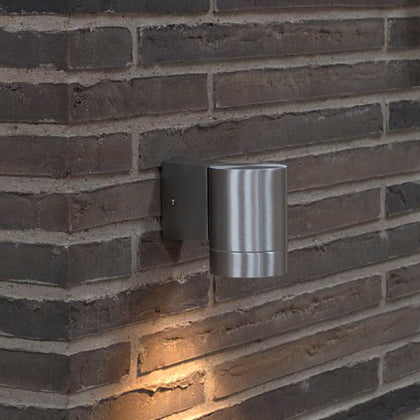 Nordlux Tin Maxi Outdoor Wall Light Fixture - Aluminium