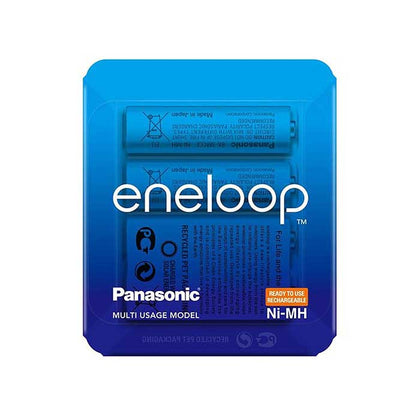 Panasonic Eneloop AA 1900mAh Batteries - Slider Pack of 4