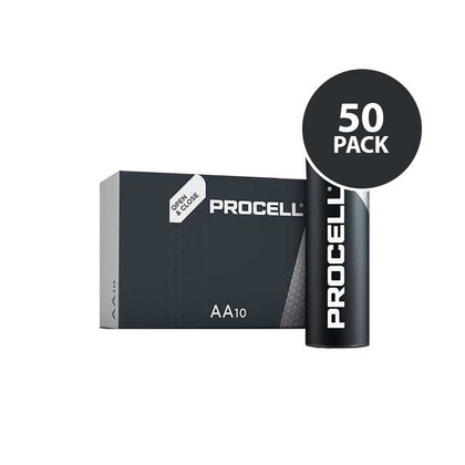 Duracell Industrial Procell - AA Batteries - 50 Pack