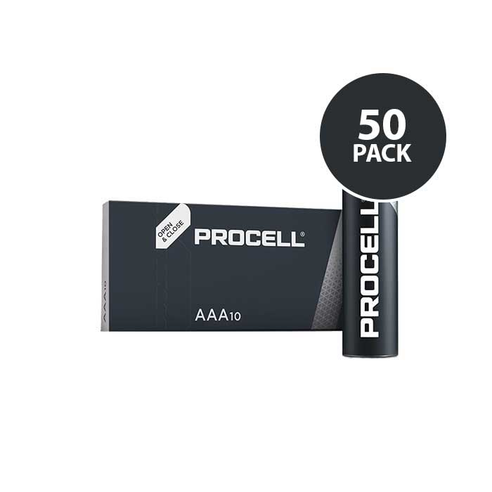 Duracell Industrial Procell - AAA Batteries - 50 Pack