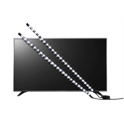 Energizer LED USB Powered TV Backlight - 2x 0.5M - White