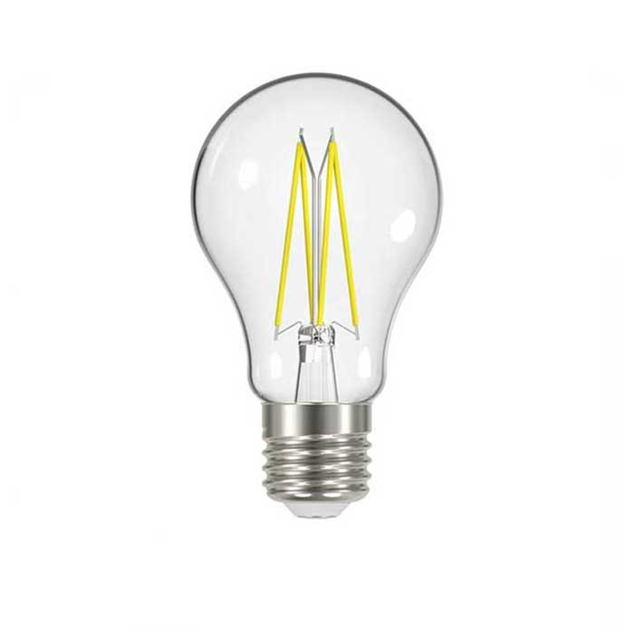 Energizer 4.3W E27 GLS Filament LED - 470lm - 2700K - Clear - Non Dimmable