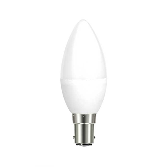 Eveready 6W B15 Candle LED - 40W Replacement - 480lm - 4000K - Non Dimmable