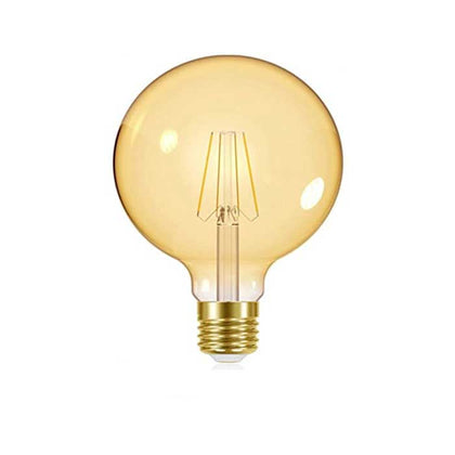 Energizer 5.5W E27 Large Globe Filament LED - 470lm - 2200K - Gold - Dimmable