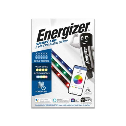 Energizer 5M Smart Strip Colour Changing - WiFi Compatible