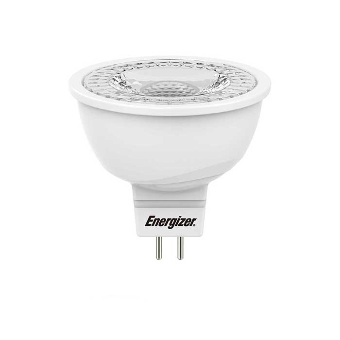 Energizer 4.8W MR16 LED - 35W Replacement - 345lm - 3000K - Non Dimmable