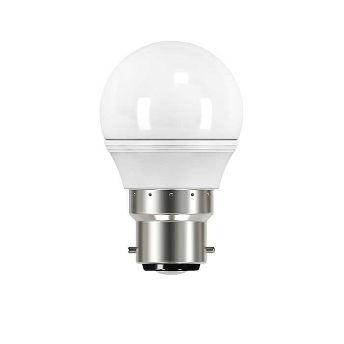 Energizer 3.4W B22 Golf LED - 25W Replacement - 250lm - 2700K - Non Dimmable