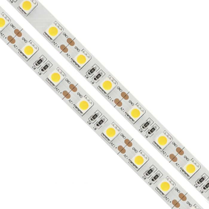 72W LED Strip Light - 5m Length - 5000lm - 3000K - Non Waterproof