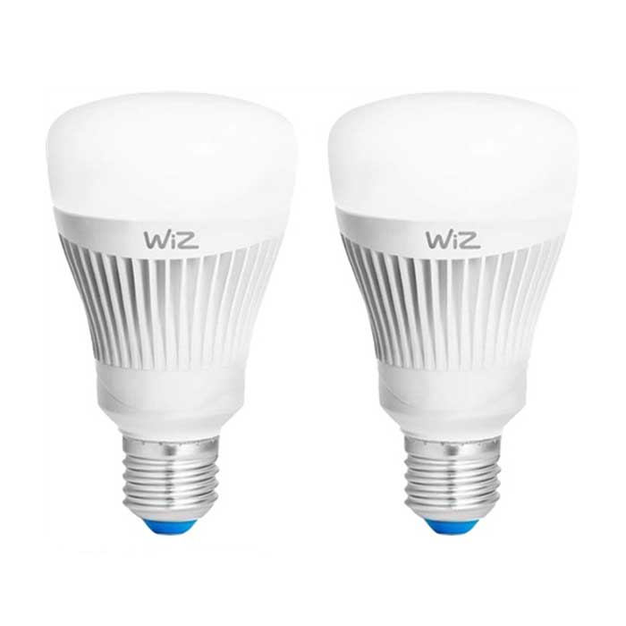 WiZ 11.5W E27 GLS Smart LED - Whites - 2 Pack