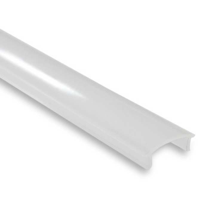 Semi-Clear Profile Cover For Aluminium Profile - 2m Length
