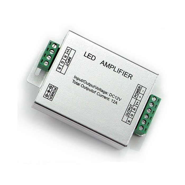 RGB Amplifier For LED Strip Lighting