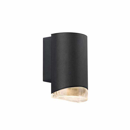 Nordlux Arn Outdoor Wall Light Fixture - Black