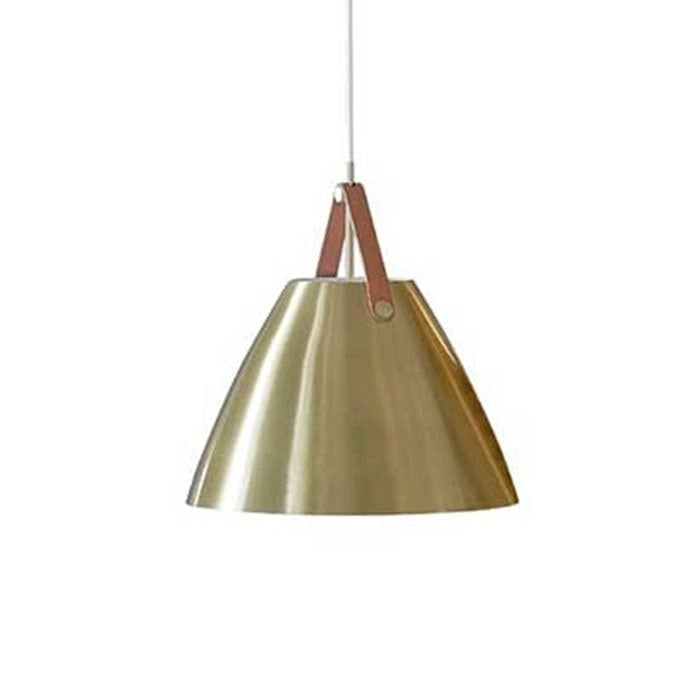 DFTP Strap27 Pendant Light Fixture - Brass