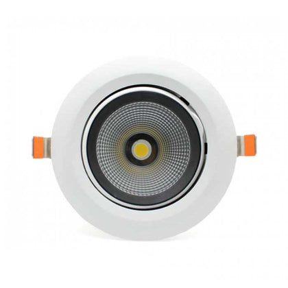 35W Recessed LED Scoop Downlight - 3550lm - 5000K - Non Dimmable