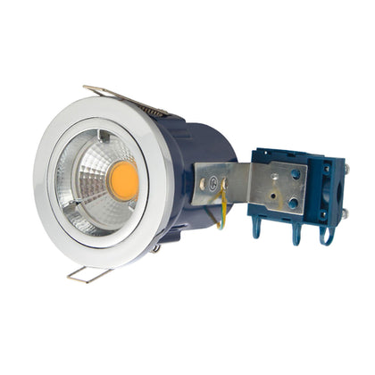 Electralite GU10 Spotlight Fitting - IP20 - Chrome