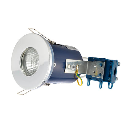 Electralite GU10 Spotlight Fitting - IP65 - Chrome