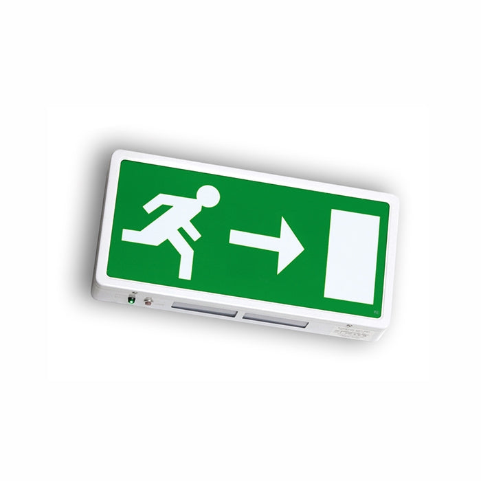 Running Man Legend For Surface Mounted Exit Sign - Right