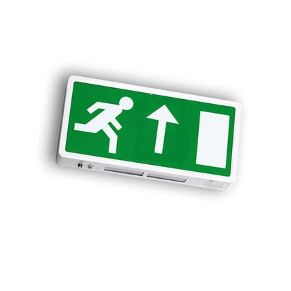 Running Man Legend For Surface Mounted Exit Sign - Up