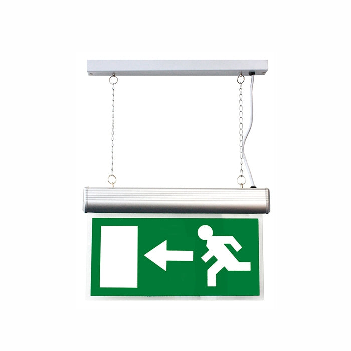 Running Man Blade - Left/Right - Compatible With Suspended Emergency Exit Sign
