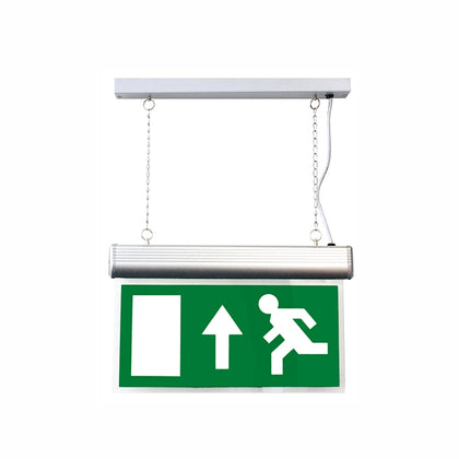 Running Man Blade For Suspended Emergency Exit Sign - Up