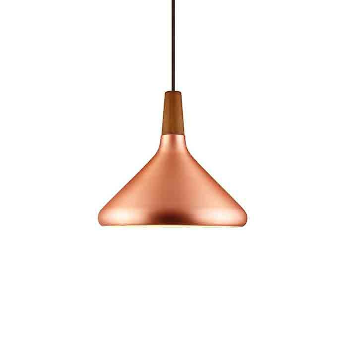 DFTP Float27 Pendant Light Fixture - Copper