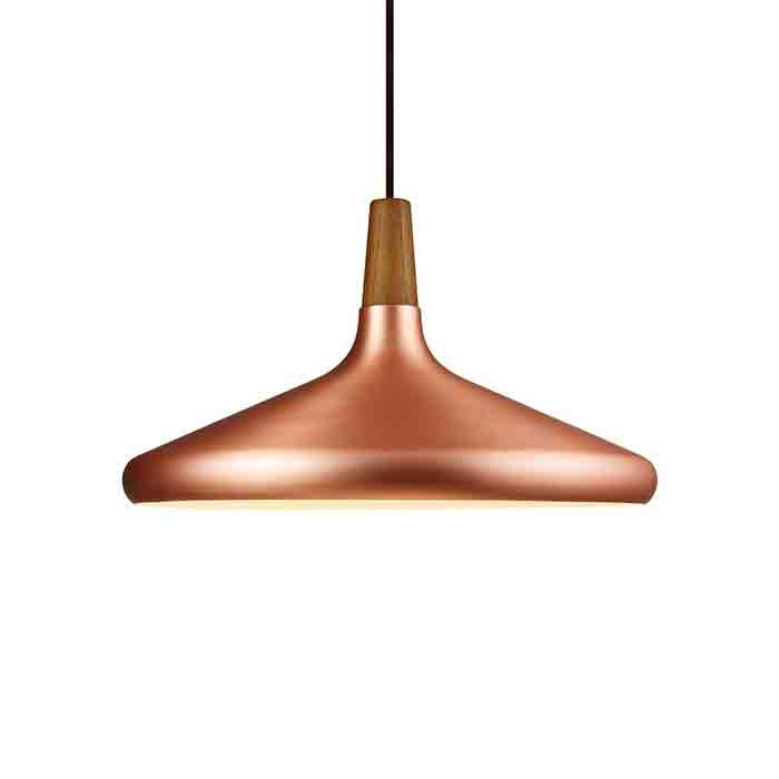 DFTP Float39 Pendant Light Fixture - Copper