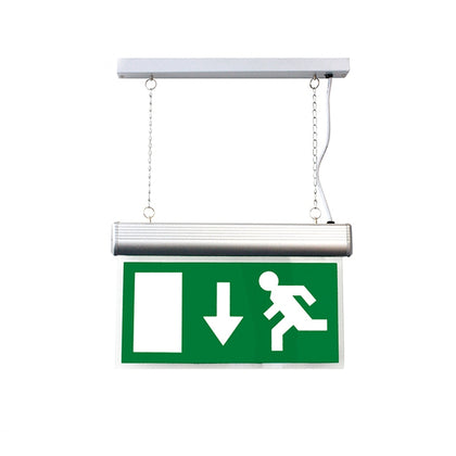 4W Suspended LED Emergency Exit Sign - Maintained