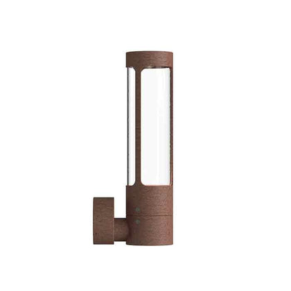 DFTP Helix Outdoor Wall Light Fixture - Corten