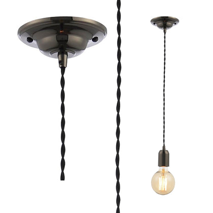 Inlight Pendant Light Fixture - Black