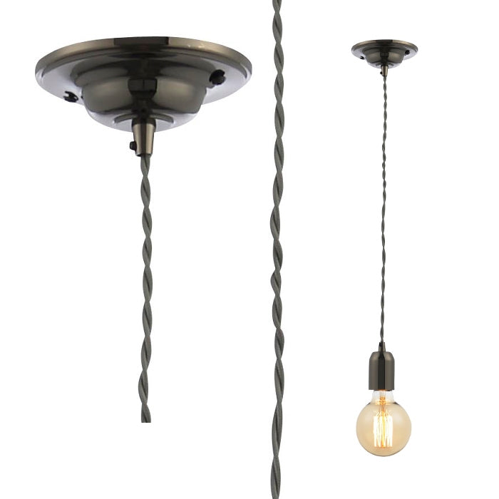 Inlight Pendant Light Fixture - Grey