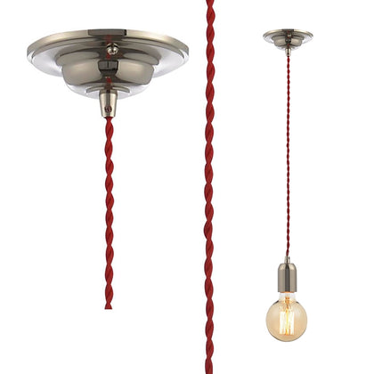 Inlight Pendant Light Fixture - Red