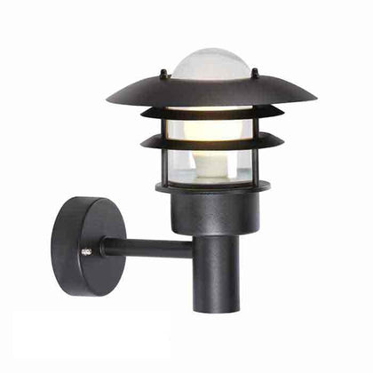 Nordlux Lonstrup22 Outdoor Wall Light Fixture - Black