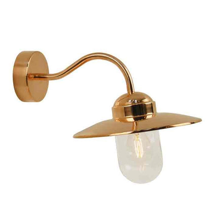 Nordlux Luxembourg Outdoor Wall Light Fixture - Copper