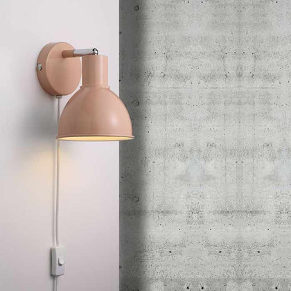 Nordlux Pop Wall Light Fixture - Peach