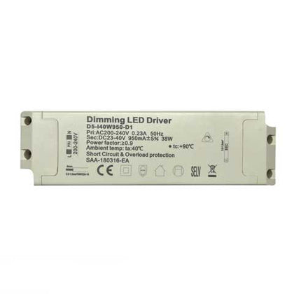 20W TRIAC LED Transformer/Driver - Dimmable - Compatible With LED Panels