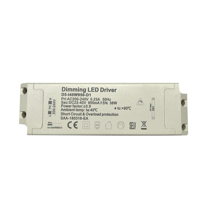40W TRIAC LED Transformer/Driver - Dimmable - Compatible With LED Panels