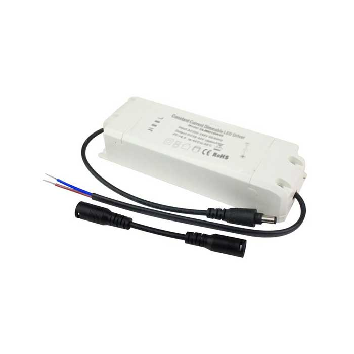 60W TRIAC LED Transformer/Driver - Dimmable - Compatible With LED Panels