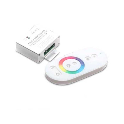 RGB Touch-Dial Remote Control For LED Strip Lighting