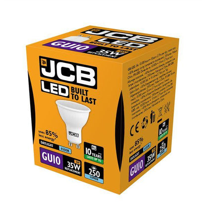 JCB LED GU10 3W Spotlight - Daylight