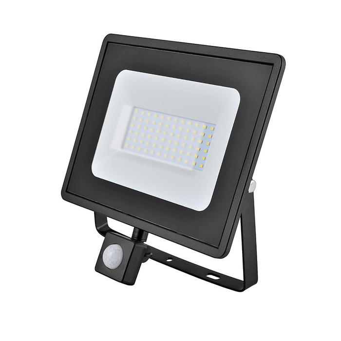 Eveready 50W SMD LED Flood Light - IP65 - 4000K - PIR Sensor