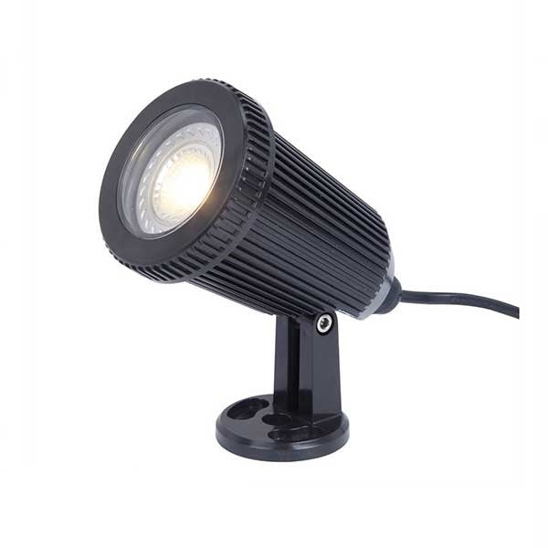 Energizer Spike/Deck Light Fixture - Black