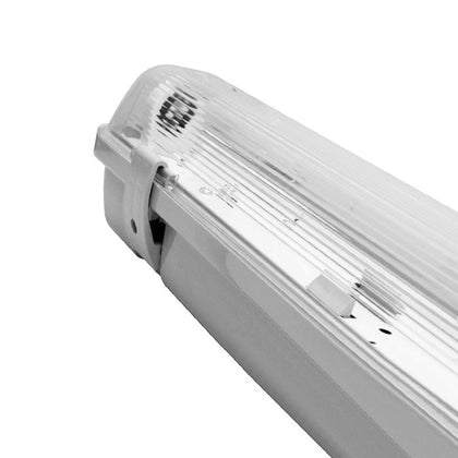 PowerMaster Tube Light Fitting - 5ft (1500mm) - PC Body & Diffuser - Single