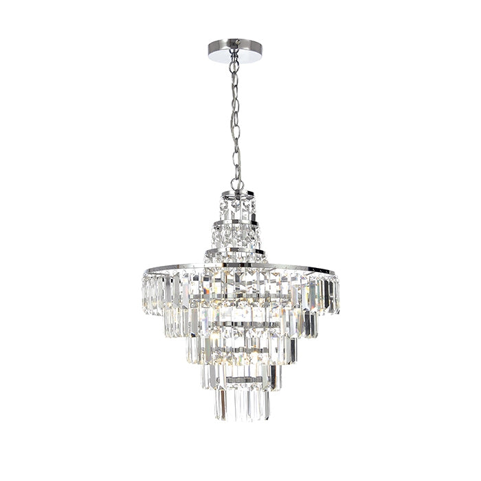 Spa 4-Light Ceiling Light Fixture - Chrome