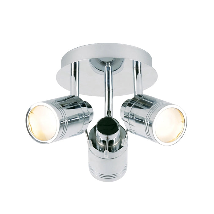Spa 3-Light Ceiling Light Fixture - Chrome