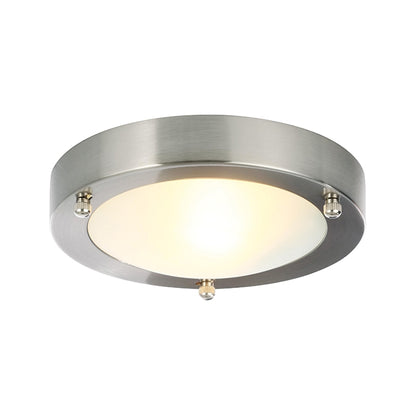 Inlight Ceiling Light Fixture - Brushed Steel